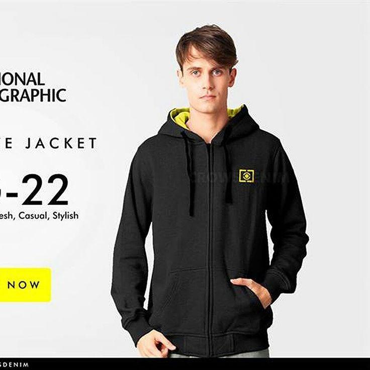Jaket natgeo, bahan cutton fleece. Ready size S M L XL, SMS/WA 085701111308 BBM D25C521D