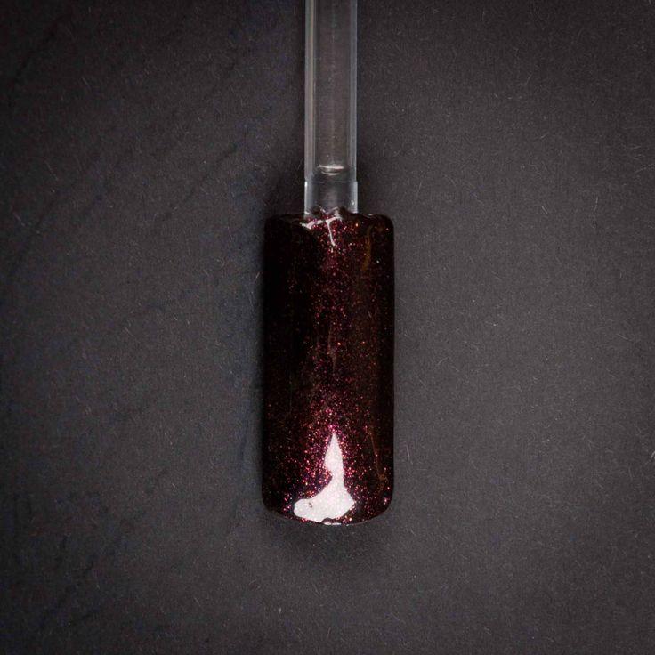 gel per la ricostruzione unghie nero rosso