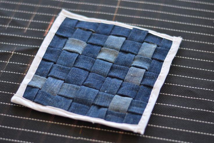 DIY ~ Grytunderlägg av jeans - Diagnos:Kreativ