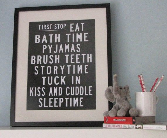 Etsy PrintRolls Posters, Boys Bathroom, Bus Rolls, Kids Bathroom, For Kids, Bedtime Routines, Kid Rooms, Kid Bathrooms, Bedtime Bus