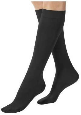 3a6bc09f31084 Amazon.com: Terramed Women's USA Made Sheer Graduated Compression Socks 20-30  mmHg Firm Pressure Medical Quality Ladies Knee High Support Stockings ...
