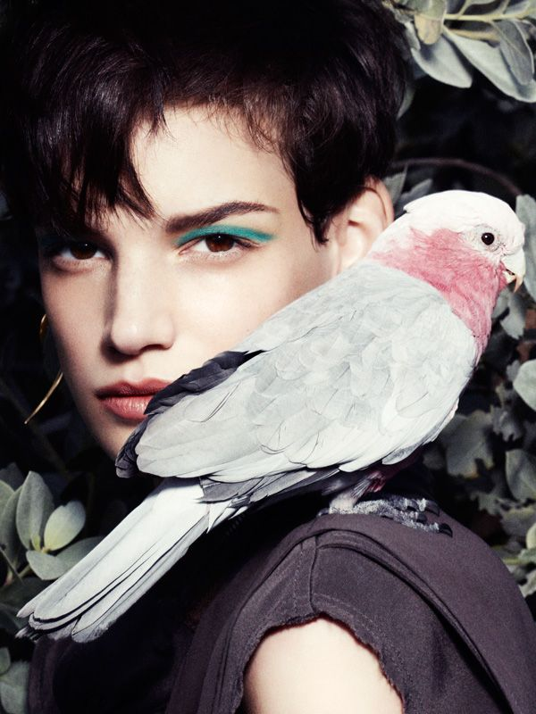 Jessica Pitti Gets Feathered for Tatler Russia June 2013 by Marcus Ohisson   Fashion Gone Rogue: The Latest in Editorials and Campaigns