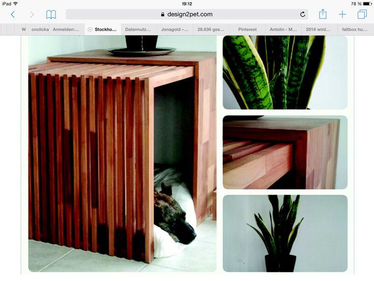 Idee für Hundehöhle                                                                                                                                                                                 More