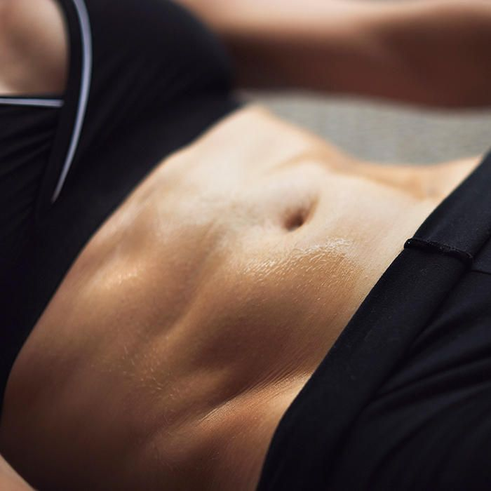 A toned tummy comes from working multiple muscle groups—not from endless sit-ups!