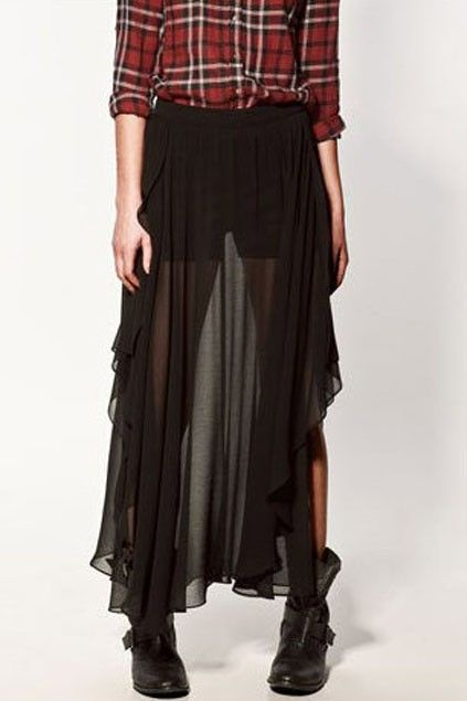long-asymmetric-flouncing-zipped-chiffon-skirt.jpg (423×635)