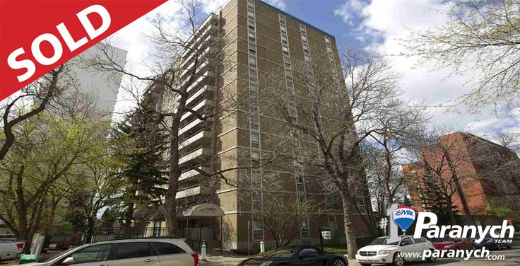 We SOLD #505 10140 120 St! Thinking of selling your Edmonton home? Call 780-457-4777 or visit Paranych.com for your Free Home Evaluation today!