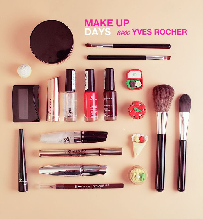 Make Up ! yves rocher | Poulette Magique