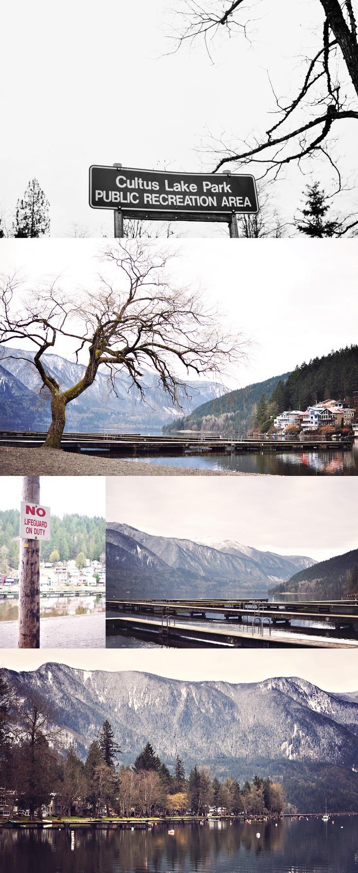 Cultus Lake in the winter! #peaceful #winter #Cultus