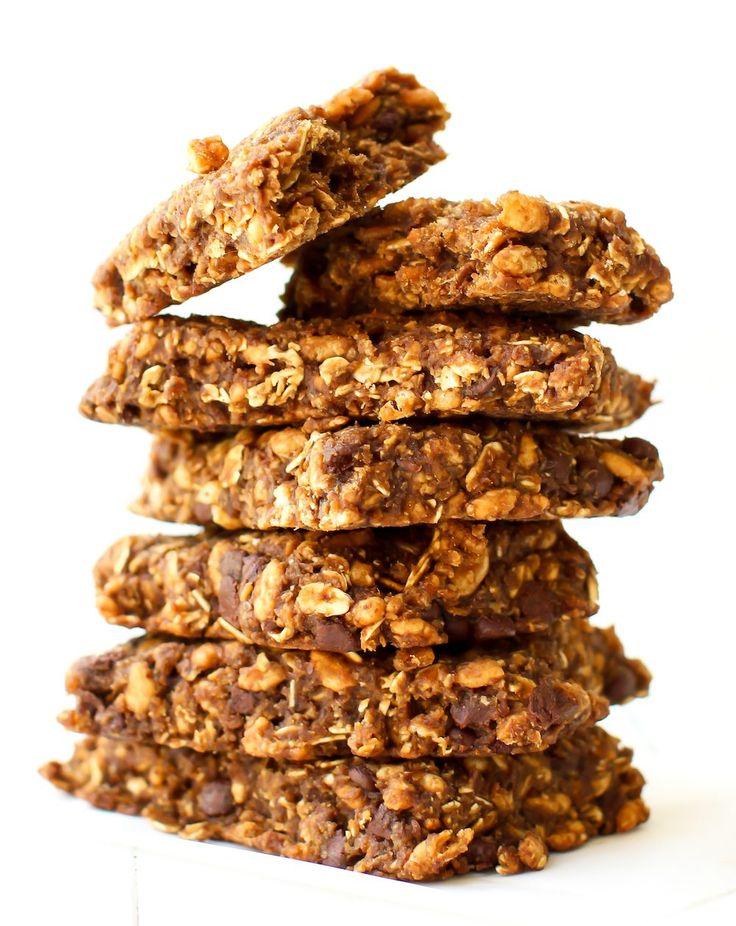 homemade #vegan chocolate chip clif bars                                                                                                                                                     Mais