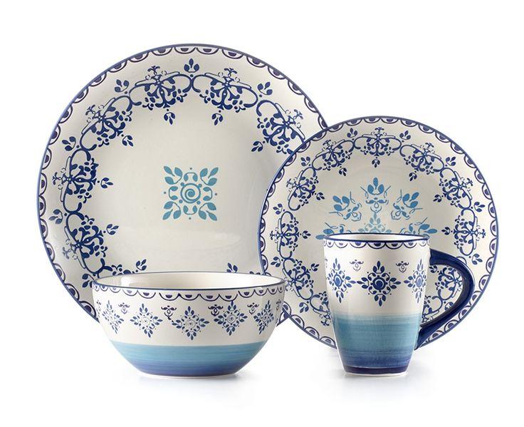 Kaleidoscope 16PC dinnerware - Dinnerware - Dining | Stokes Inc. Canada's Online Kitchen Store