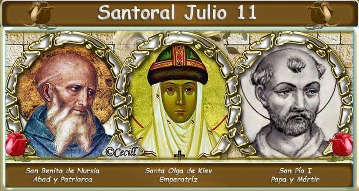 Vidas Santas: Santoral Julio 11