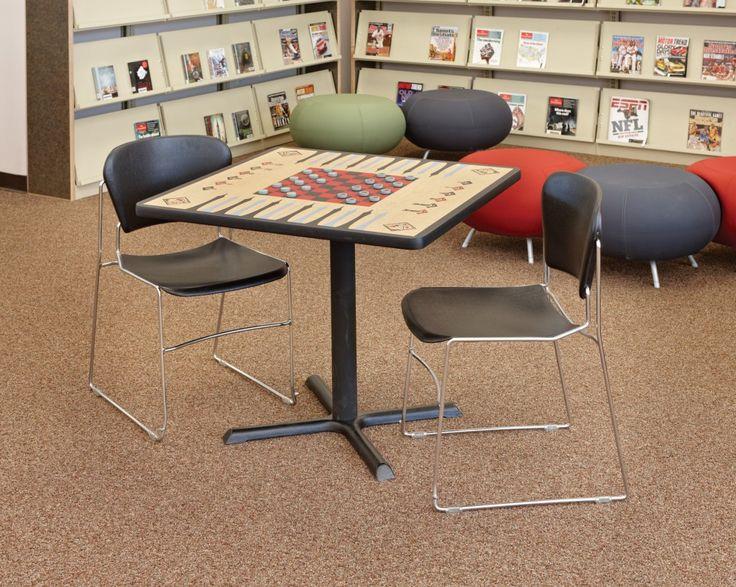 Mission Vista High School, CA / DEMCO Interiors / Game table