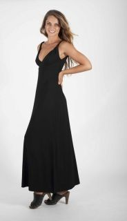 92% bamboo viscose / 8% elastane  maxi dress twisted straps empire line long, feminine, gorgeous to cover your arms, wear with the goddess wrap