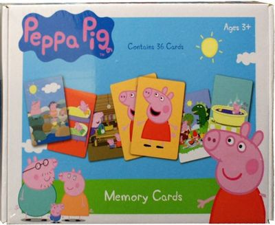 Memory Cards (Peppa Pig)