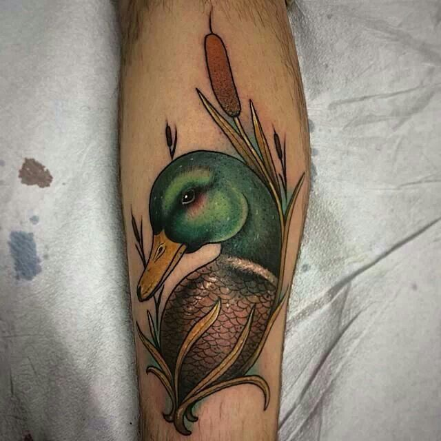 Duck tattoo