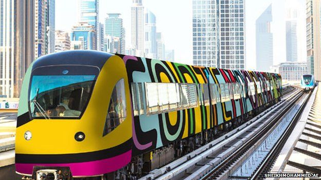 """The Dubai metro system is going to turn into an art gallery on the orders of the emirate's ruler, it's been reported.  Sheikh Mohammed bin Rashid Al Maktoum says he wants to """"inspire and communicate with every employee on his way to work, every student on his way to pursuing education and every tourist visiting Dubai""""."""