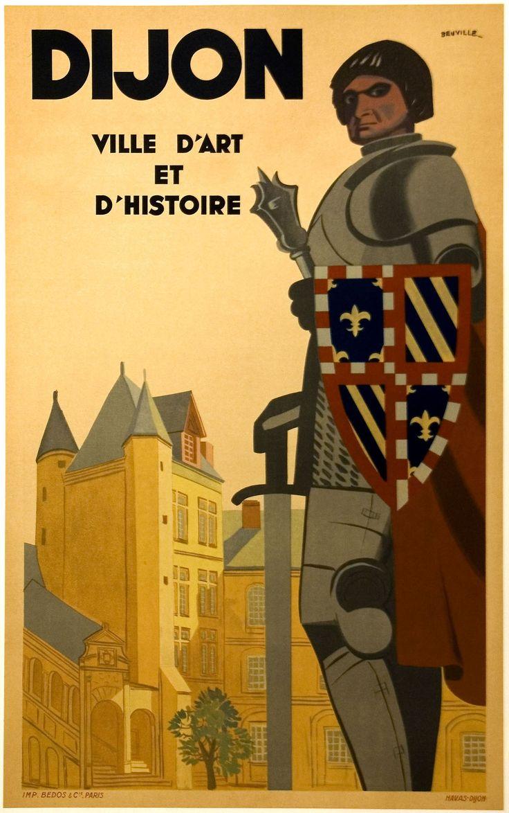 1925 Dijon, Département : Côte d'Or - Région : Bourgogne France