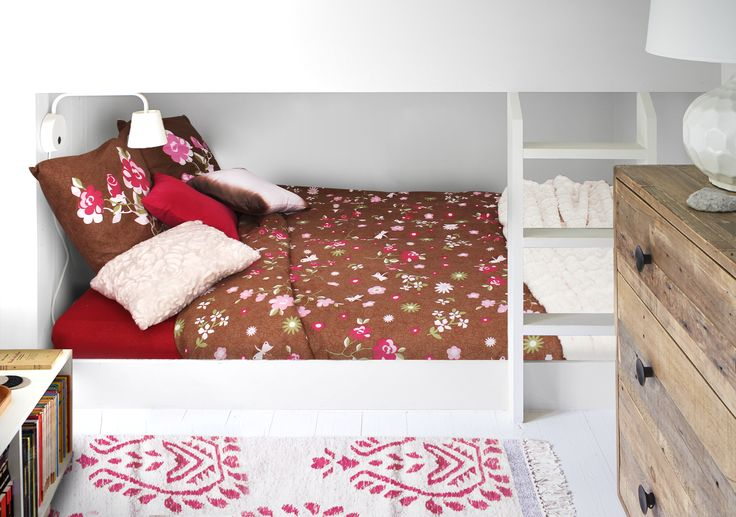 Aimez vous le style #Liberty ? Si oui, vous adorerez la parure Léa en #soldes ! #Linge #Maison #décoration #Liberty #bed