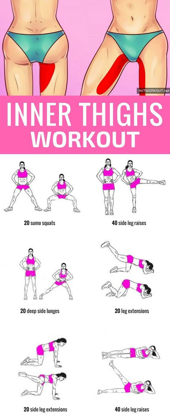 10 Minute Inner Thigh Workout To Try At Home. #hom… - www.eeshops.net
