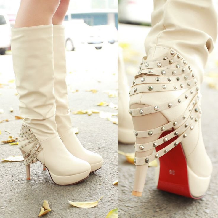 I'm gonna wear these biker boots with my wedding gown!!!!! Lol!