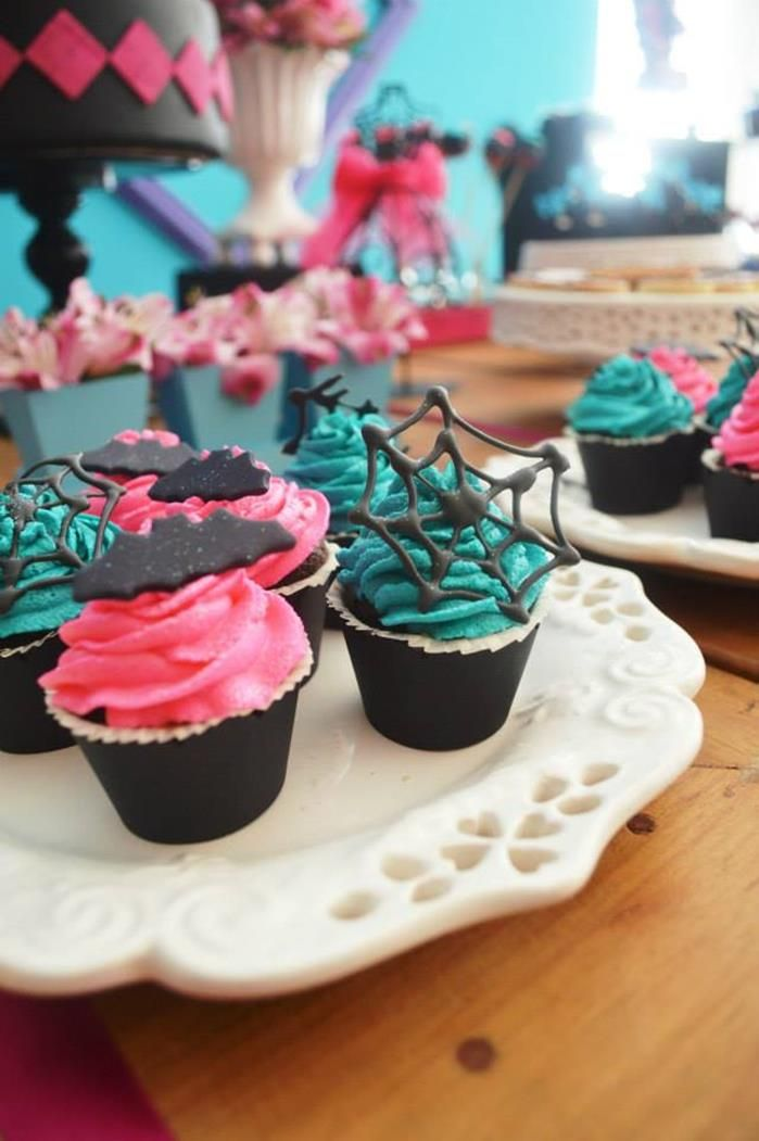 Monster High Party with Lots of Cute Ideas via Kara's Party Ideas