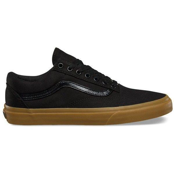 Vans Gum Old Skool ( 55) via Polyvore featuring men s fashion 7bbb00a28