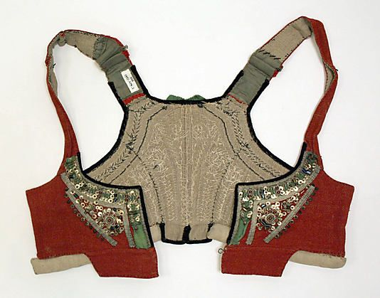 late 19th early 20th Czech vest