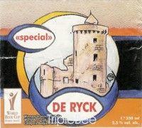 Label van Special De Ryck