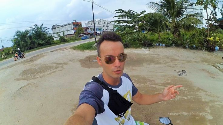 10. Автостопом с Бали в Германию 14-15 д   Индонезия, Суматра, Dumai