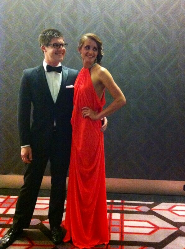 Thank you for making my night at the Sir Charles Gairdiner Hospital Ball with this gorgeous dress :) Rachel x