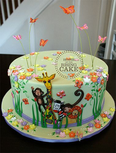 17 best images about animal party on pinterest animals for Animal print edible cake decoration