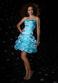 Faddish Short Length A line Sweetheart Natural Waist Evening Dress - Lunadress.co.uk