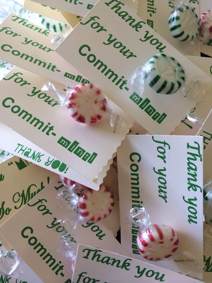 It's just a photo of Playful Thank You for Your Commit Mint Free Printable