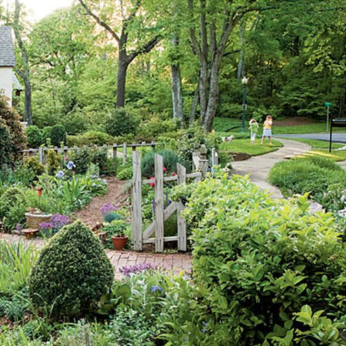 French Cottage Garden Design french walled garden This Cottage Garden Is Reminiscent Of The Original English Cottage Gardens That Were Informal And Functional