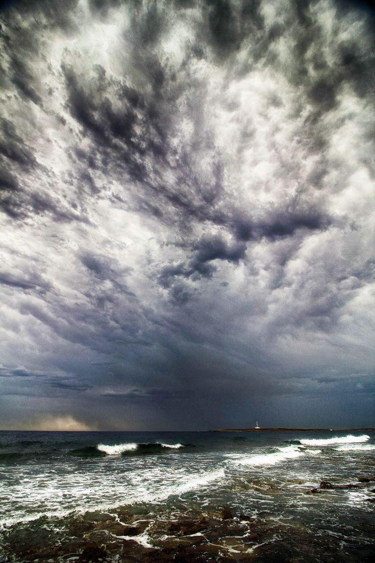 Photo John Talbot  - Punta Prima, summer storm