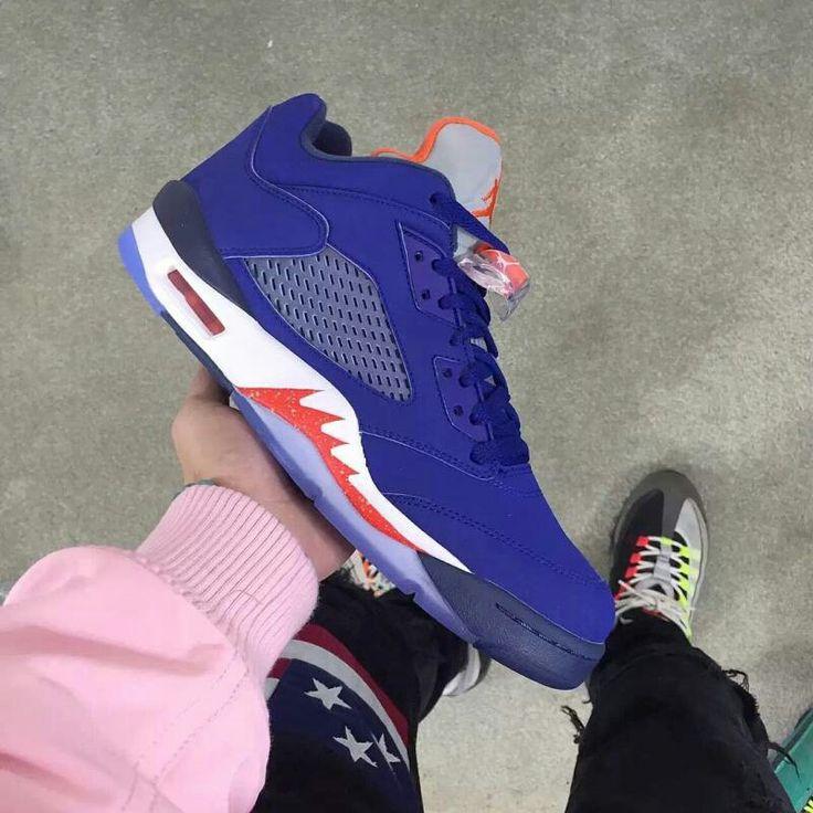 "Air Jordan V Low Retro ""Knicks"" Preview | Complex CA"