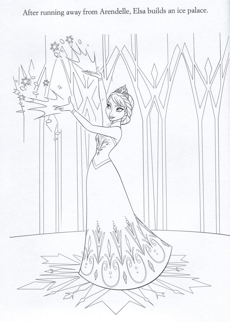 97 best Disney Frozen Coloring Sheets images on Pinterest