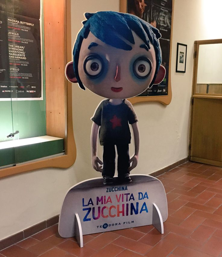 #LaMiaVitaDaZucchina Emozioni vivide in stop motion per una storia che colpisce al cuore #movie #lucca #luccacomicsandgames @teodorafilm