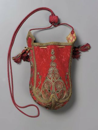Bag. Balkan or Near East, 19th Century. Embroidered wool. From the MFA Boston: 57.1608