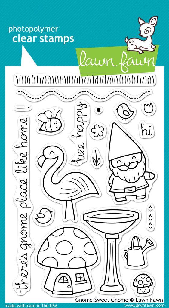 El nuevo set de sellos gnome me tiene enamorada | Artcreatiu