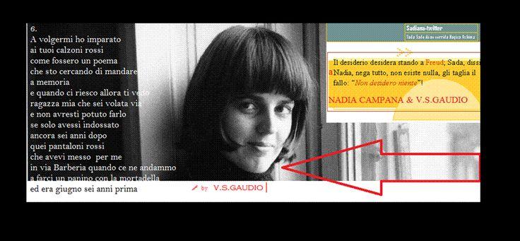 UH Magazine: SADIANA-TWITTER. Nadia Campana & V.S.Gaudio ⁞ 4