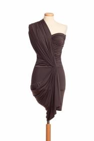 assimetrical dress from AnnaEva