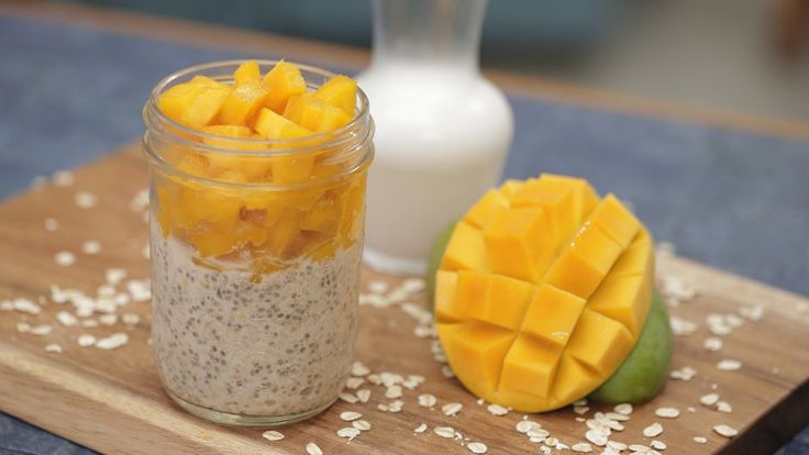 Tropical Overnight Oats   Asian Food Channel