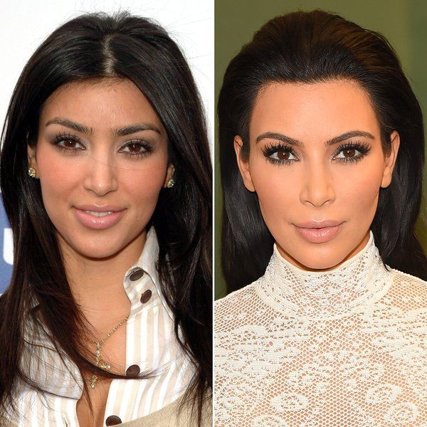 Celebrity eyebrow transformations: Thin vs Thick | Glamour ...