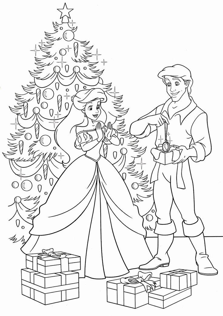 Walt Disney Christmas Coloring Pages Lovely Walt Disney ...