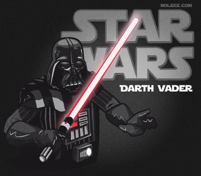 Star Wars by Nolegz.com - Darth Vader #Starwars