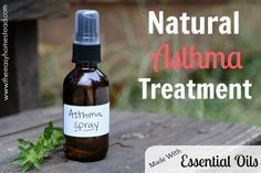 Looking for a natural treatment for asthma? These three essential oils for asthma are very effective during an attack.