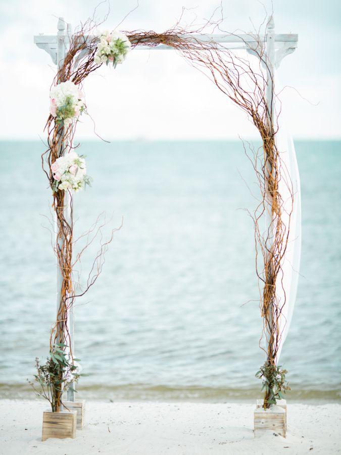 Ethereal Key West Beach Hemingway House Wedding