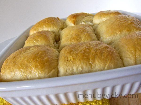 From Disney's Polynesian Resort - 'Ohana's Pineapple Breakfast Bread