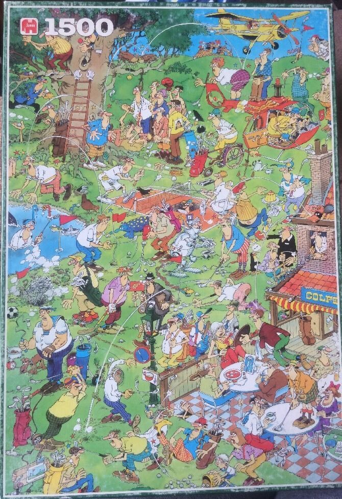 Jumbo 1500 Jigsaw Puzzle Jan Van Haasteren